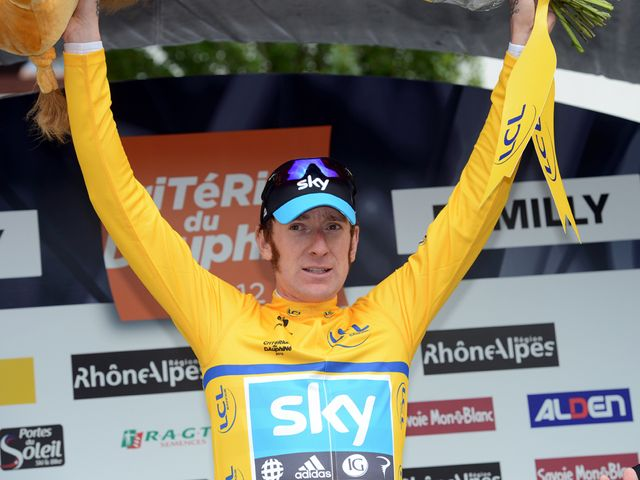 Wiggins: Safely negotiated the stage into Rumilly
