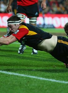 Brodie Retallick try Chiefs v Crusaders 2012