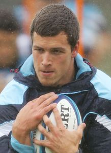 Grayson Hart Waratahs training 2011