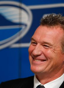 John Kirwan Blues coach 2012