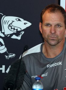John Plumtree at Sharks press co 2012