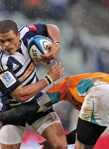 Juan de Jongh Stormers v Cheetahs 2012