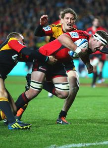 Kieran Read try crusaders chiefs