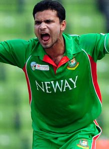 Bangladesh seamer Mashrafe Mortaza out of ODI series in Sri Lanka with ankle injury