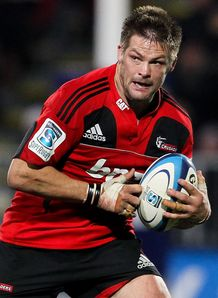 Richie McCaw Crusaders skipper v Bulls