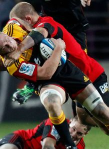Sam Cane Chiefs v Crusaders semi 2012