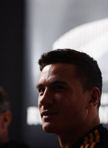 Sonny Bill Williams at a Chiefs press conference