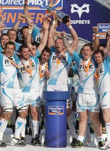 SKY_MOBILE Ospreys - Rabodirect celebrations - May 2012