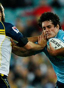 Dave Dennis and Nick White waratahs v brumbies