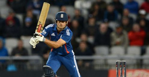 Alastair Cook England v Australia fifth ODI