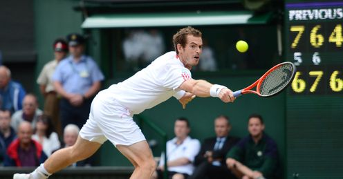 Murray's average first serve speed against Ferrer was 116mph, with his fastest hitting 135mph