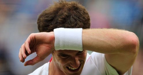 Out-gunned: Murray hit 46 winners to Federer's 62 en route to his final defeat