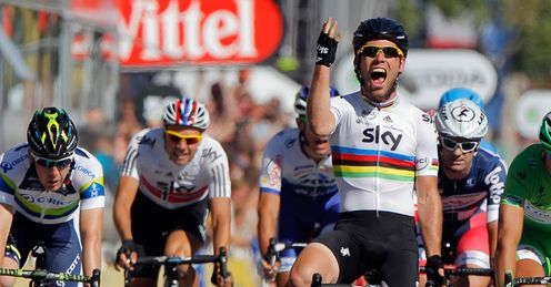 Cavendish won his third stage of the 2012 Tour on Sunday - but he'll want more next season