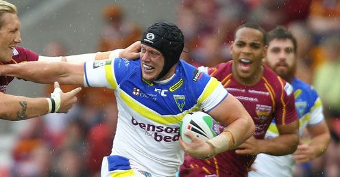 Late developer: Chris Hills didn't make it in Super League until he was 23, says Phil
