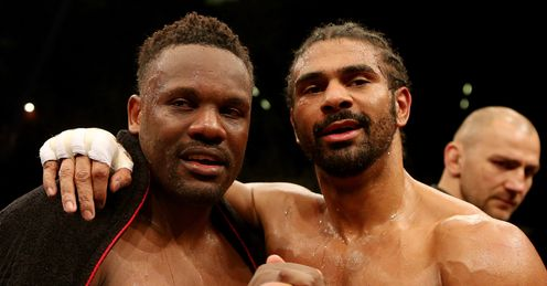 Chisora and Haye: Mates again