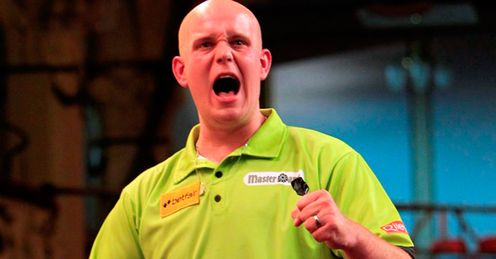 Van Gerwen: could he win again in Wolverhampton?