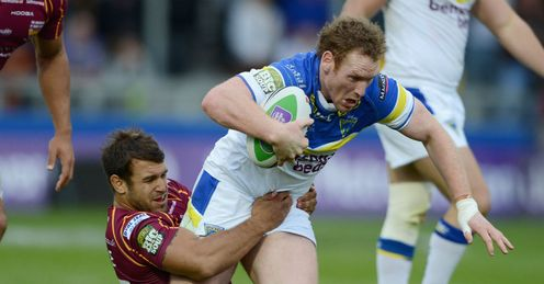 Joel Monaghan Huddersfield vs Warrington Challenge Cup Semi Final