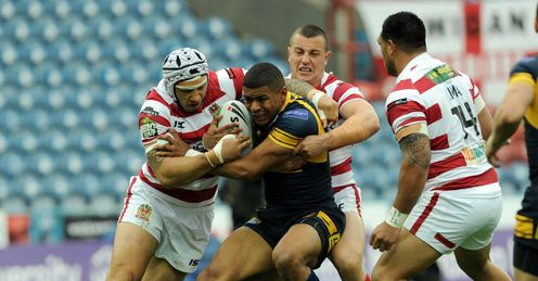 Kallum Watkins Leeds Rhinos v Wigan Warriors Challenge Cup semi-final