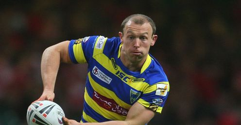 Micky Higham Warrington Wolves