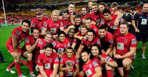 Reds win Australian conference 2012
