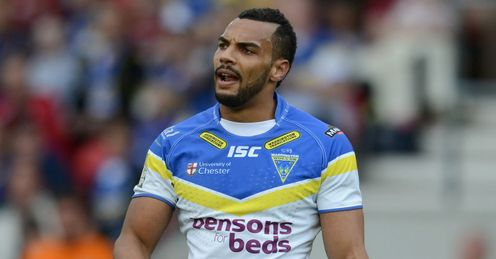Ryan Atkins Huddersfield vs Warrington Challenge Cup Semi Final