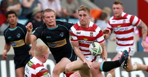 Sam Tomkins Wigan Warriors 2012