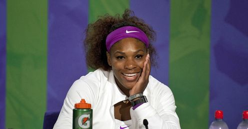 Serena: It could be all smiles for the American ace once again