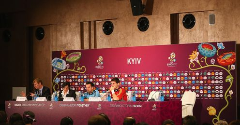 Xavi &amp; Casillas: speak to the press on Saturday