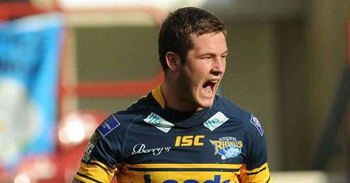 Zak Hardaker Leeds Rhinos v Wigan Warriors Challenge Cup semi-final