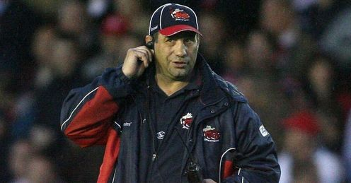 Karl Harrison Halfiax coach during his days with Salford
