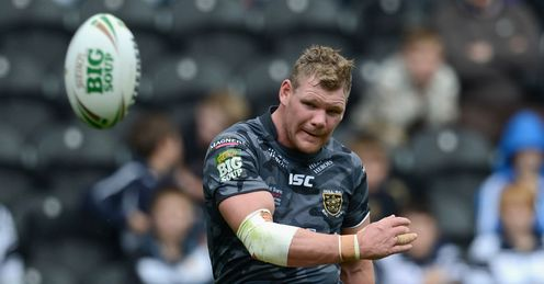 hull fc Danny Tickle