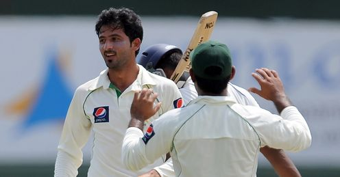 junaid khan day three second test pakistan sri lanka colombo