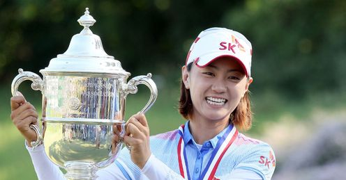 US Women's Open champion Na Yeon Choi - leading Korea's charge to the top