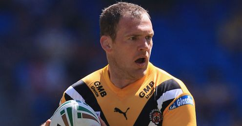 Danny Orr Castleford Tigers