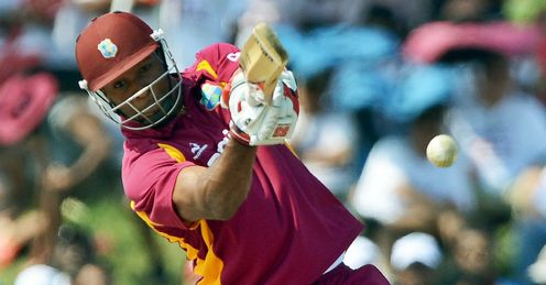 Kieron Pollard West Indies batting against New Zealand Florida