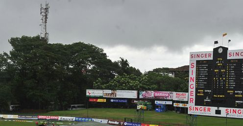 Sri Lanka v Pakistan 2nd Test day 3 Colombo SSC day three rain