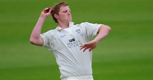 Ben Stokes Durham bowling in the LV= County Championship