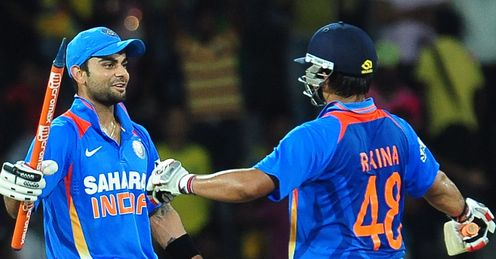 virat kohli suresh raina india
