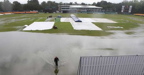 Waterlogged cricket generic - Grace Road - 18/7/12