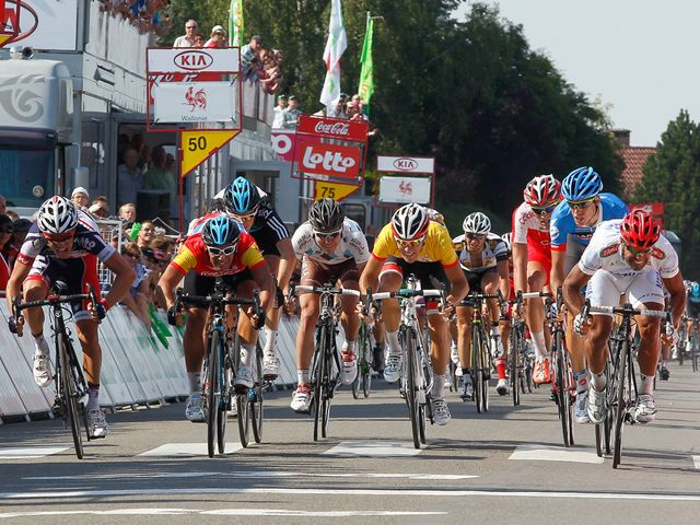 Appollonio: Narrowly edged out in Belgium