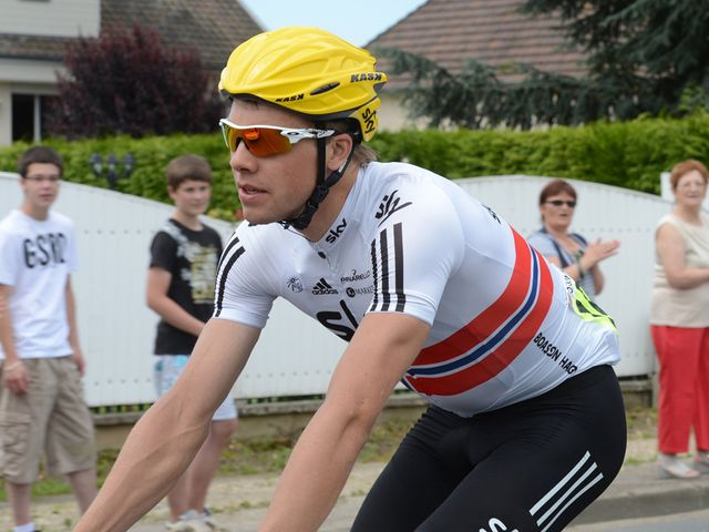 Boasson Hagen: Led out by maillot jaune
