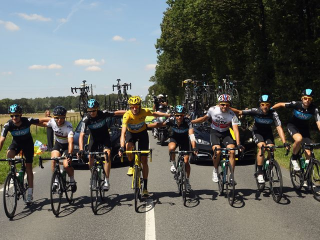 The Tour de France-winning team