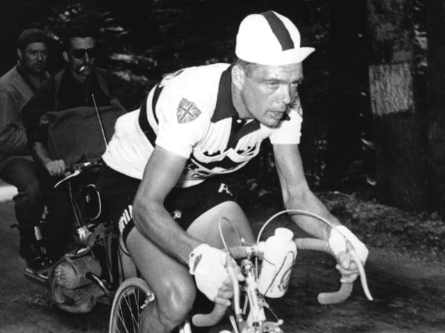 Brian Robinson in the 1959 Tour de France