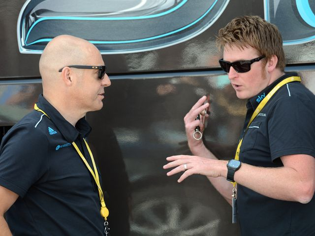 Brailsford (left): Full of praise for his team