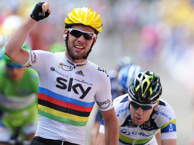 Cavendish: Stunning display to win the sprint