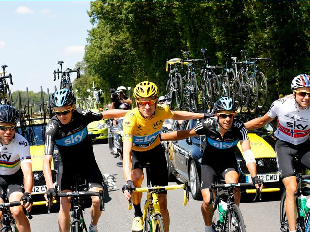 Team Sky: Number one