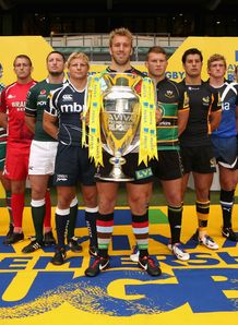Aviva Premiership 2012/13 launch - captains