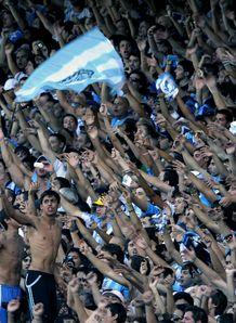 ARgentina fans chant