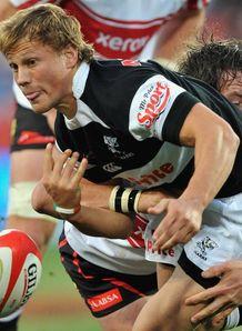Charl McLeod sharks v lions 2009