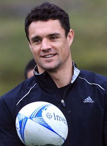 Dan Carter All Blacks training session 2012